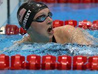 Katie Ledecky (USA), piętnastoletnia mistrzyni olimpijska na 800 metrów stylem dowolnym (fot. Getty Images)