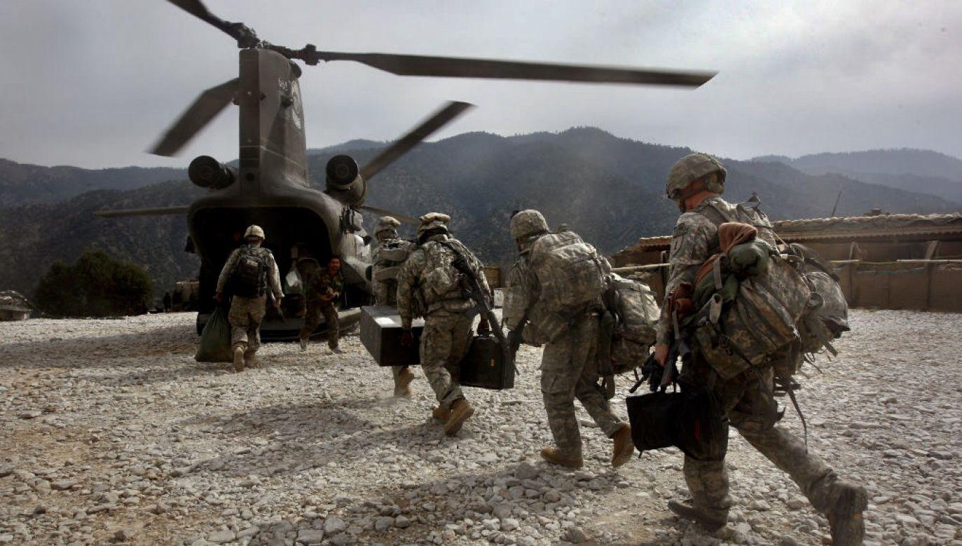 Amerykańskie wojsko ma opuścić Afganistan (fot. John Moore/Getty Images)