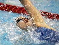 Alicja Tchórz w finałowym wyścigu na 100 m stylem grzbietowym była ósma (fot. PAP)