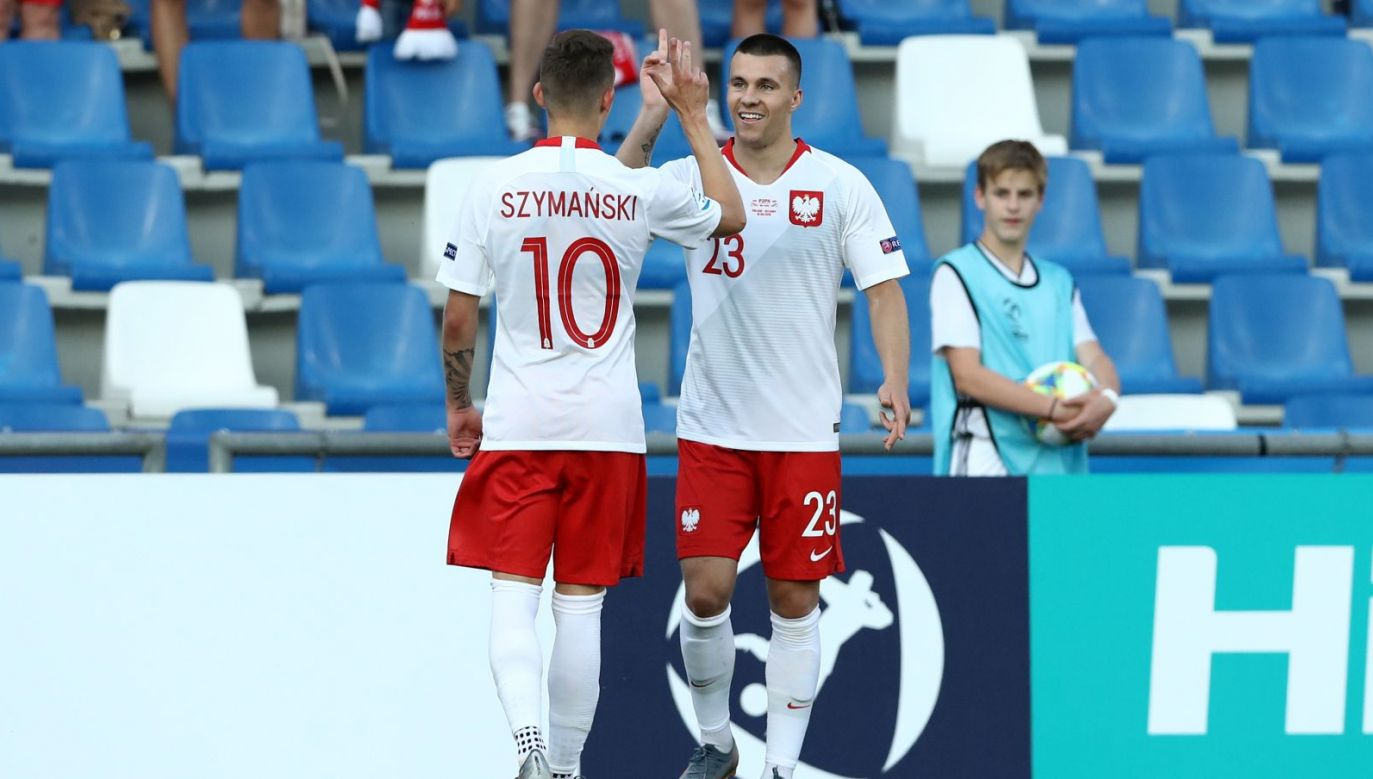Sebastian Szymański i Konrad Michalak (fot. Getty Images)