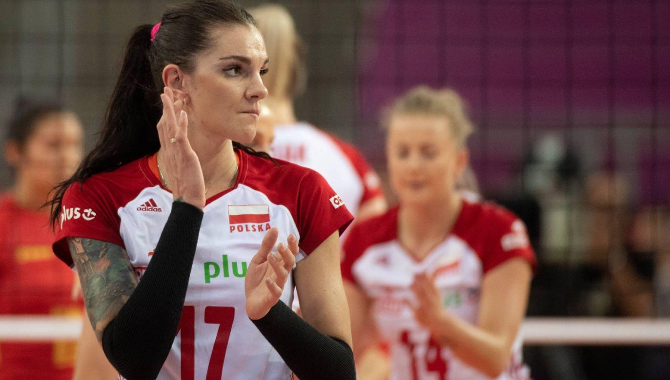 Malwina Smarzek-Godek podpisała kontrakt z Igor Gorgonzola Novara (Fot. PAP)