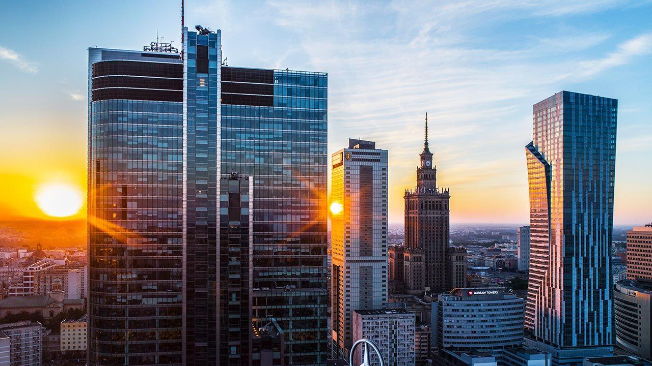 Polska gospodarka rośnie w szybkim tempie (fot. Forum/Robert Neumann)