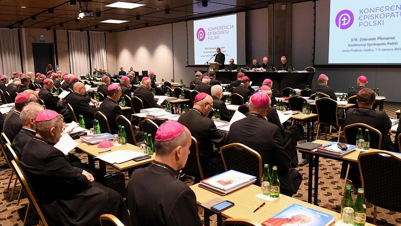 382. Zebranie Plenarne Konferencji Episkopatu Polski (fot. arch. PAP/Wojciech Pacewicz)
