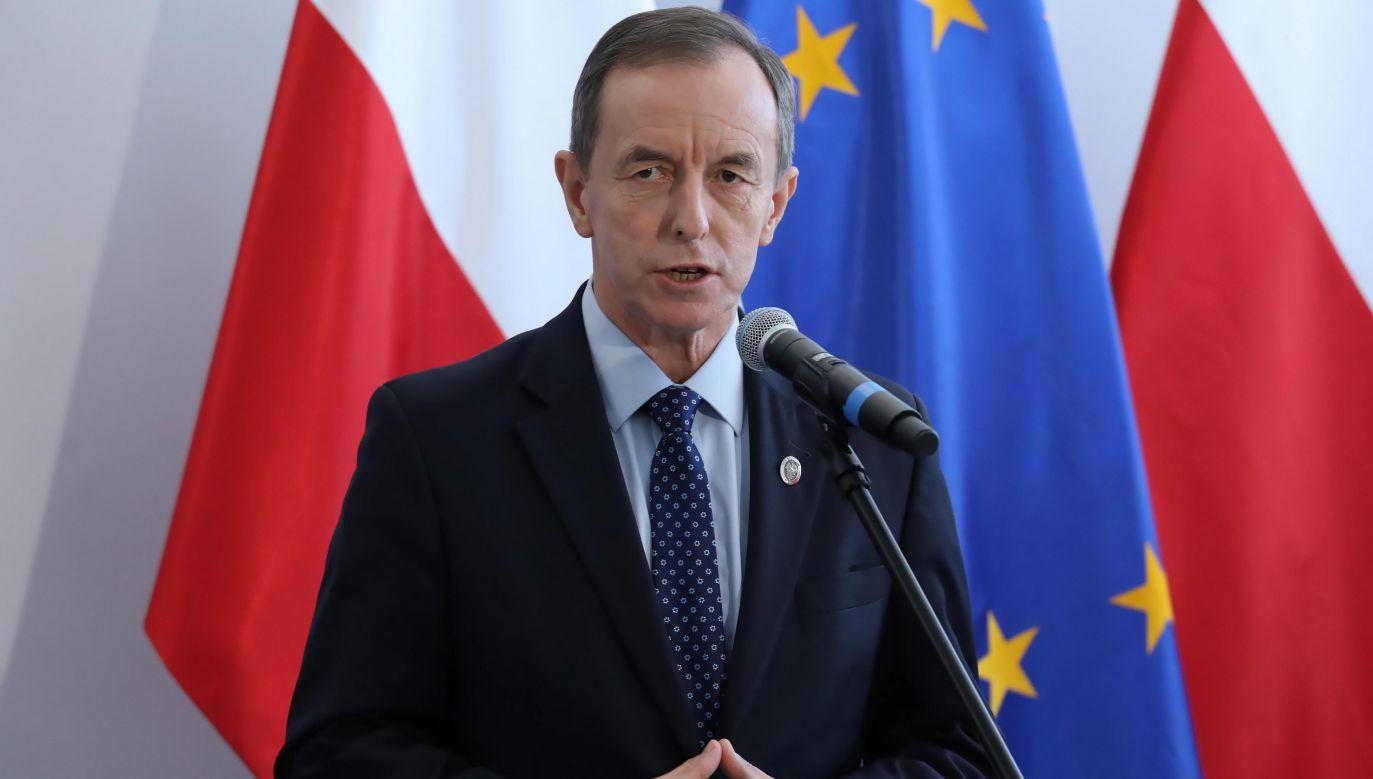 Marszałek Senatu Tomasz Grodzki (fot. PAP/Tomasz Gzell )