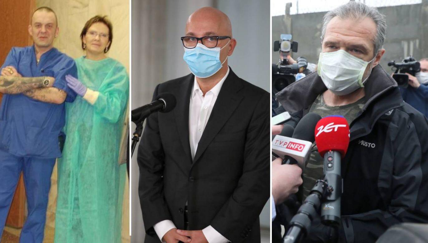 Ewa Kopacz, Robert Kropiwnicki, Sławomir Nowak (fot. TVP/PAP/Wojciech Olkuśnik/Tomasz Gzell)