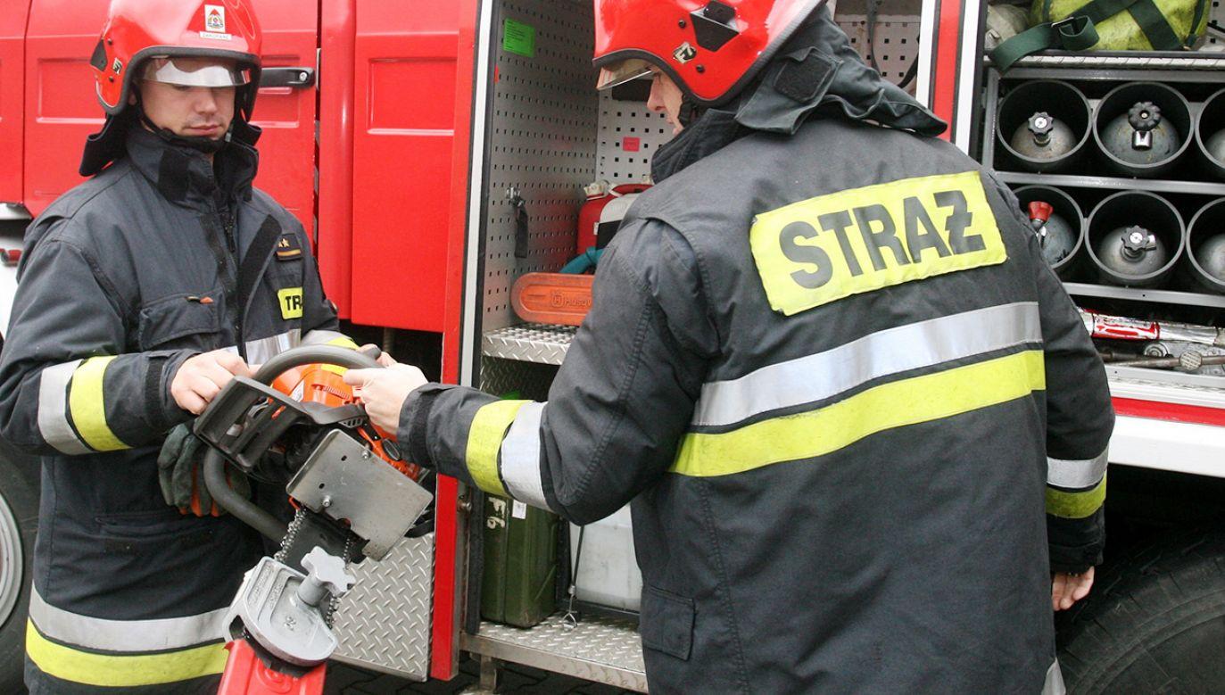 Dokładne przyczyny tego zdarzenia ustali biegły z zakresu pożarnictwa (fot. PAP/Grzegorz Momot; Zdjęcie ilustracyjne)
