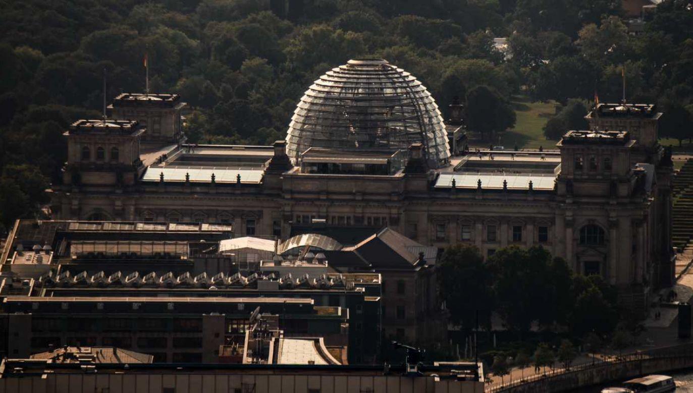 Jens F. miał dostęp do dokładnych planów Bundestagu (fot. PAP/EPA/CLEMENS BILAN)