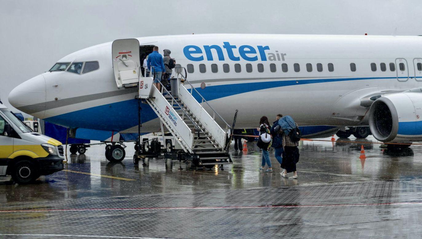 W Addis Abebie pod opieką naszej placówki pozostała załoga samolotu (fot. arch.PAP, zdjęcie ilustracyjne)