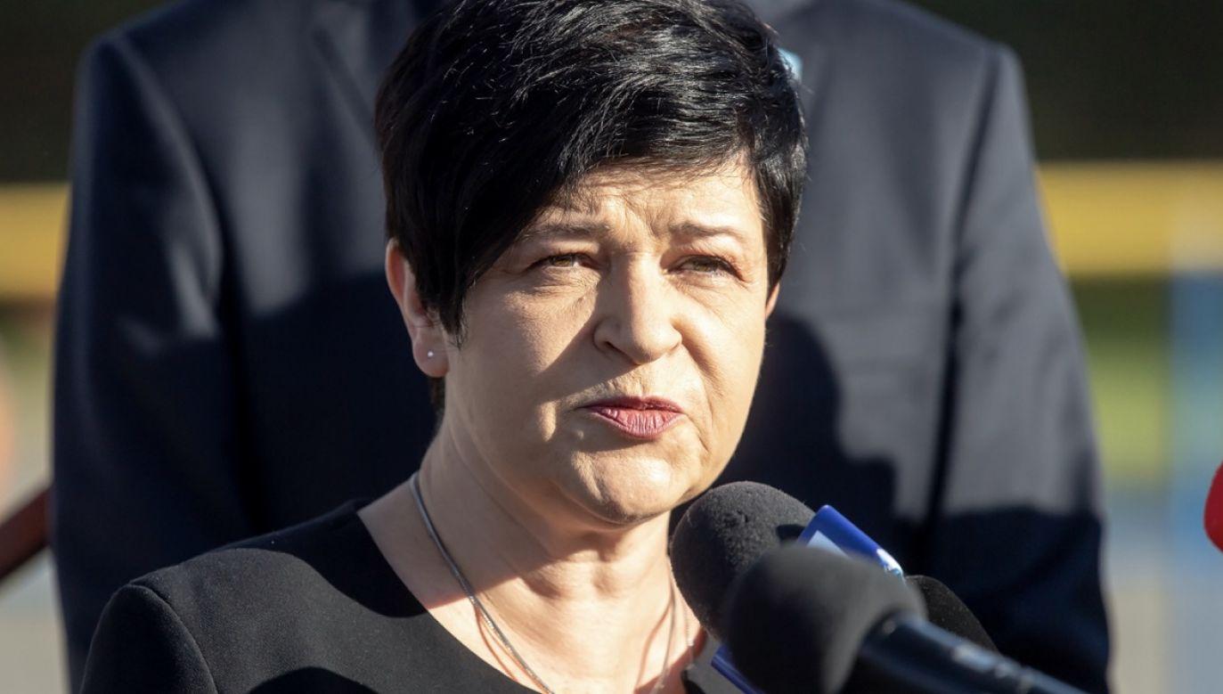 Joanna Borowiak z PiS (fot. arch. PAP/Tytus Żmijewski)