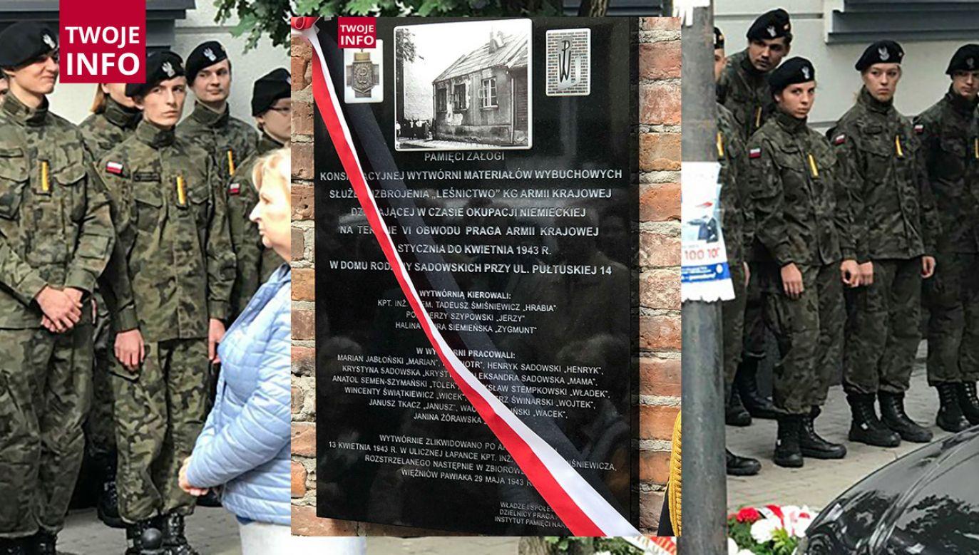 Wytwórnię zamknięto 13 kwietnia 1943r. po aresztowaniu przez Niemców w ulicznej łapance Tadeusza Śmiśniewicza (fot. Marek Bratkowski/ Twoje Info)