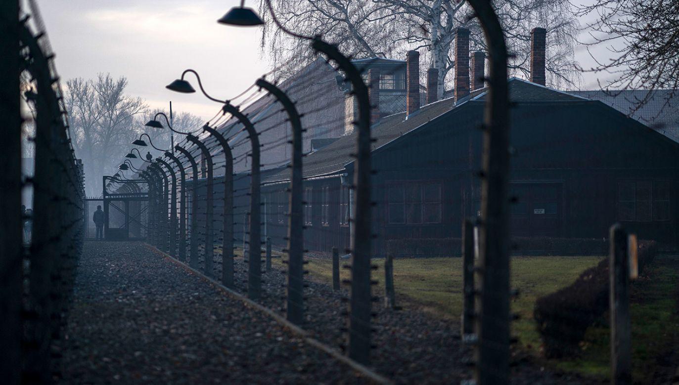Niemcy założyli obóz Auschwitz w 1940 r., aby więzić w nim Polaków; Auschwitz II-Birkenau powstał dwa lata później (fot. Christopher Furlong/Getty Images)
