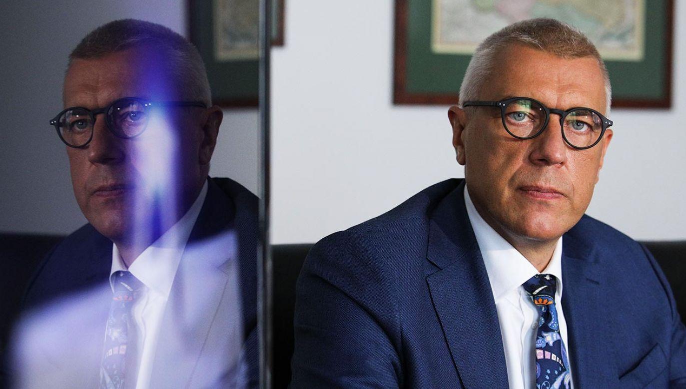 – W następnych wyborach wystartuję do parlamentu – powiedział mec. Giertych (fot. Forum/Andrzej Hulimka)
