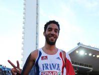 Mahiedine Mekhissi-Benabbad – zwyciężył w biegu na 3000 metrów z przeszkodami (fot. Getty Images)