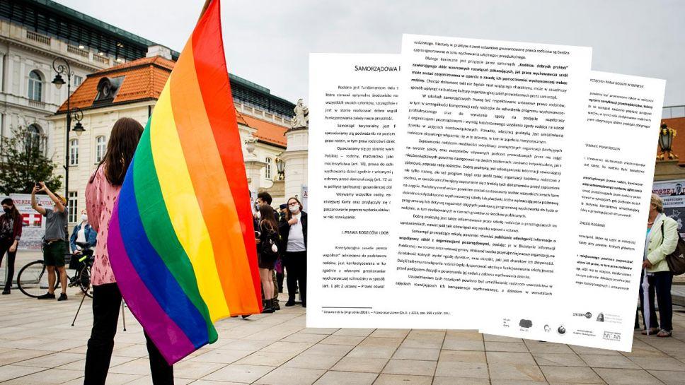 """Wbrew twierdzeniom niektórych polityków, w Polsce nie istnieją """"strefy wolne od LGBT"""" (fot. Piotr Lapinski/NurPhoto via Getty Images)"""