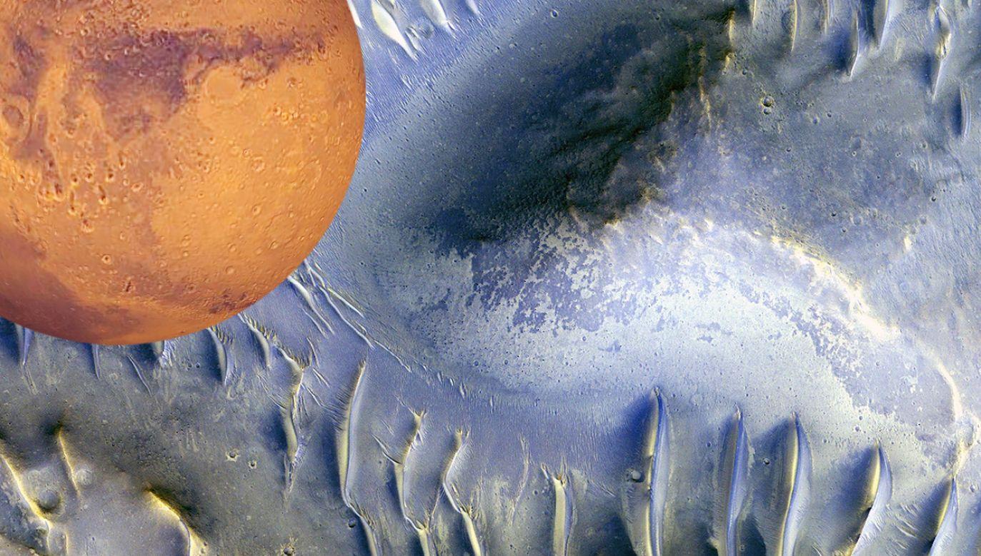 Mars jest planetą najbliższą Ziemi (fot. NASA/JPL/University of Arizona/Handout via REUTERS)
