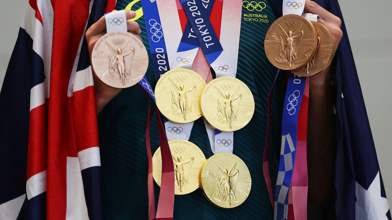 Oto dorobek Emmy McKeon - żaden sportowiec na tych igrzyskach nie zdobył więcej medali. (fot. Getty)