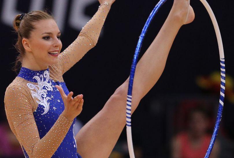 Joanna Mitrosz z ósmego miejsca wskoczyła do finału gimnastyczek (fot. PAP/EPA)