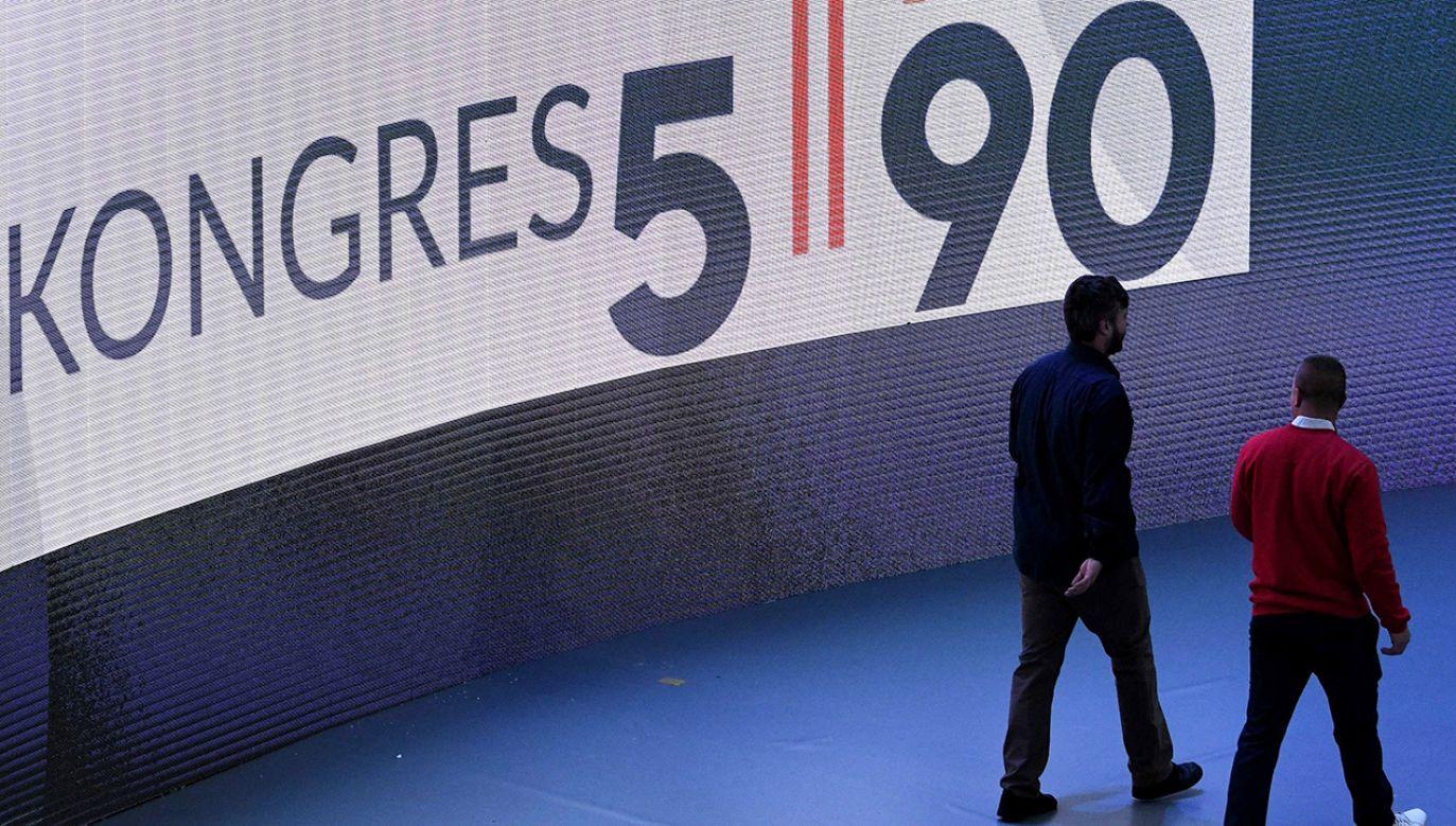 Wtorek będzie drugim i ostatnim dniem Kongresu 590, który odbywa się w Jasionce koło Rzeszowa (fot. PAP/Darek Delmanowicz)