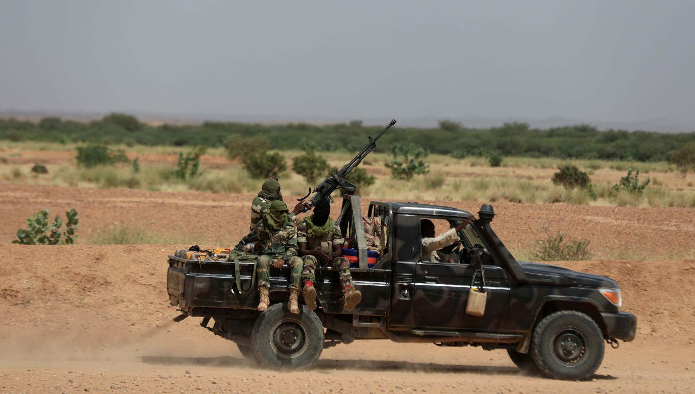 Turyści zostali zaatakowani w rezerwacie dla żyraf w Koure (fot. Forum)