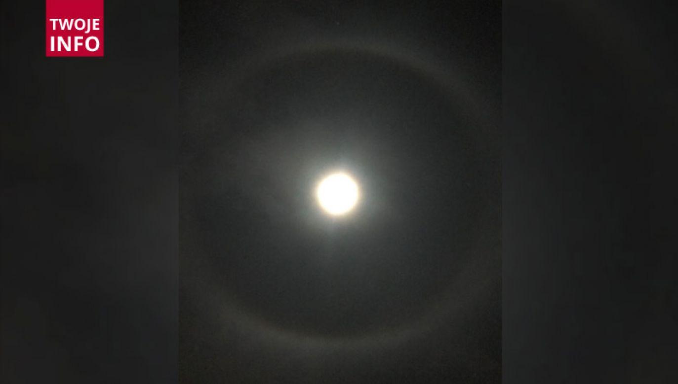 Zjawisko optyczne nazywane efektem halo (fot. Twoje Info)