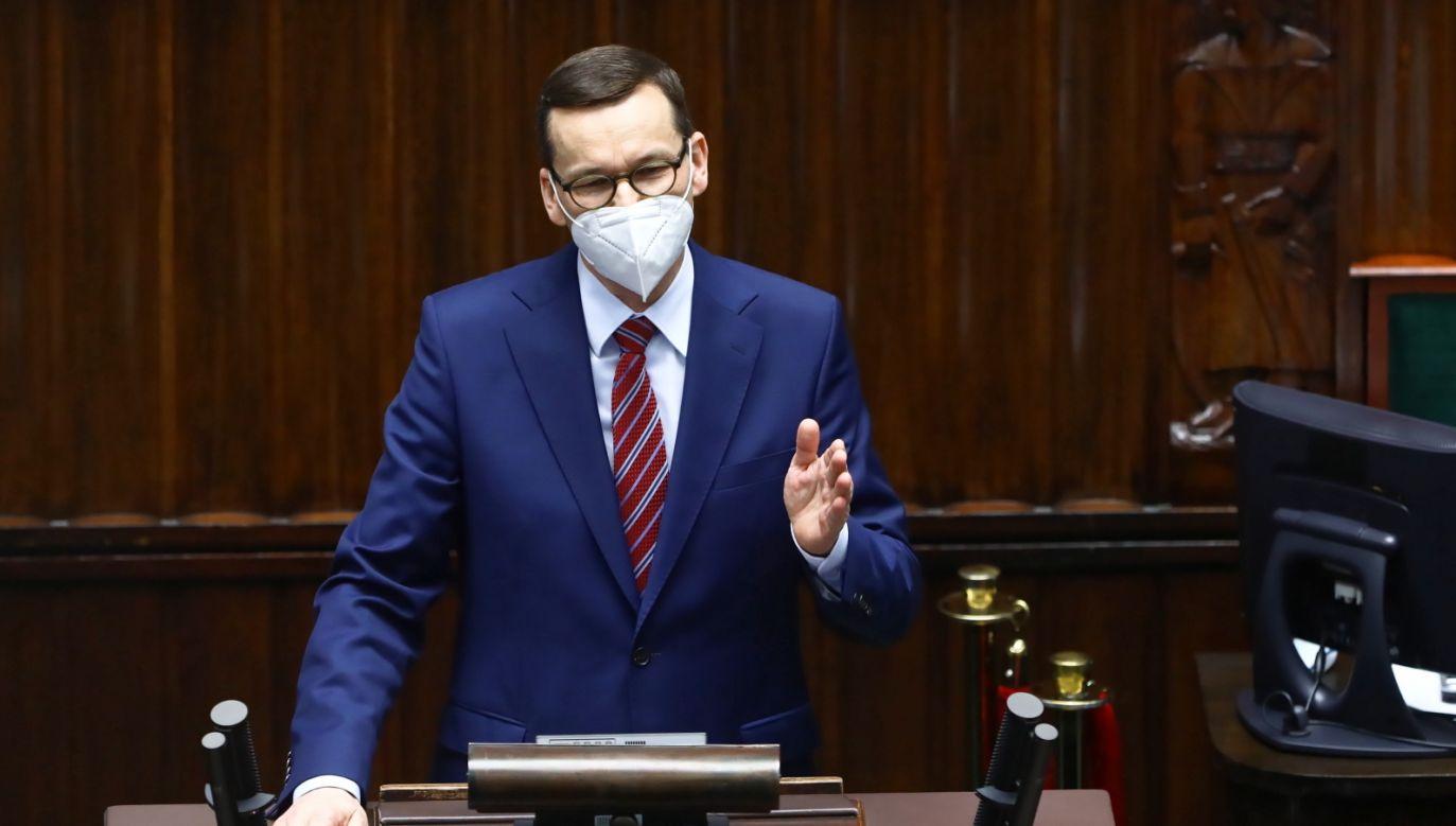 Koronawirus. Premier Mateusz Morawiecki komentuje (fot. PAP/Rafał Guz)