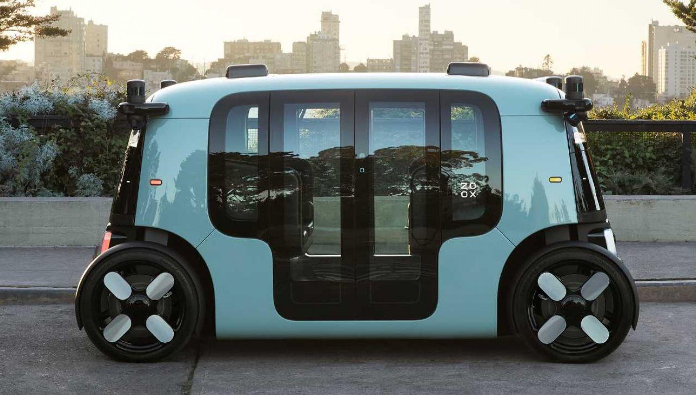 Amazon Zoox to pojazd przyszłości (fot. mat.pras.)