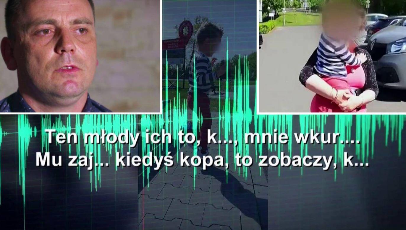 Pan Marcin walczy o syna (fot. TVP1)