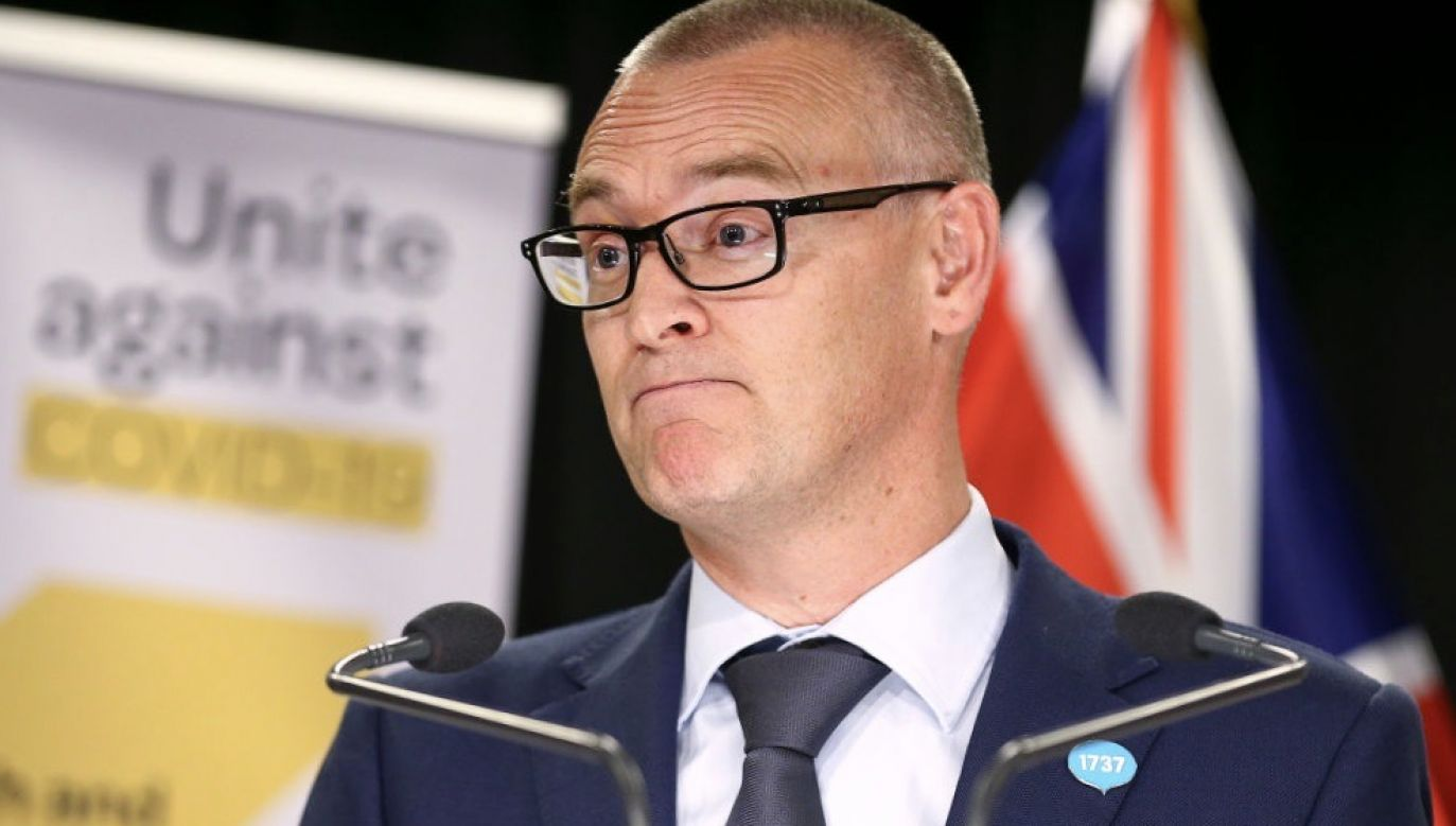 Minister zdrowia David Clark zachowa swoje stanowisko (fot. Hagen Hopkins/Getty Images)