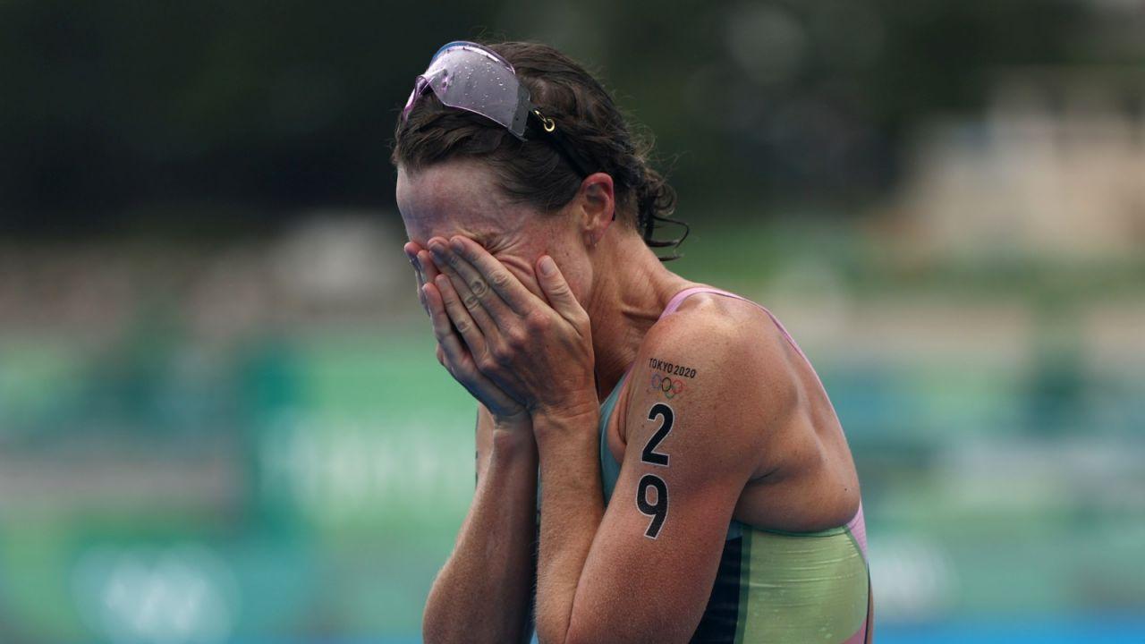 Flora Duffy zdobyła pierwszy złoty medal dla Bermudów (fot. Getty Images)