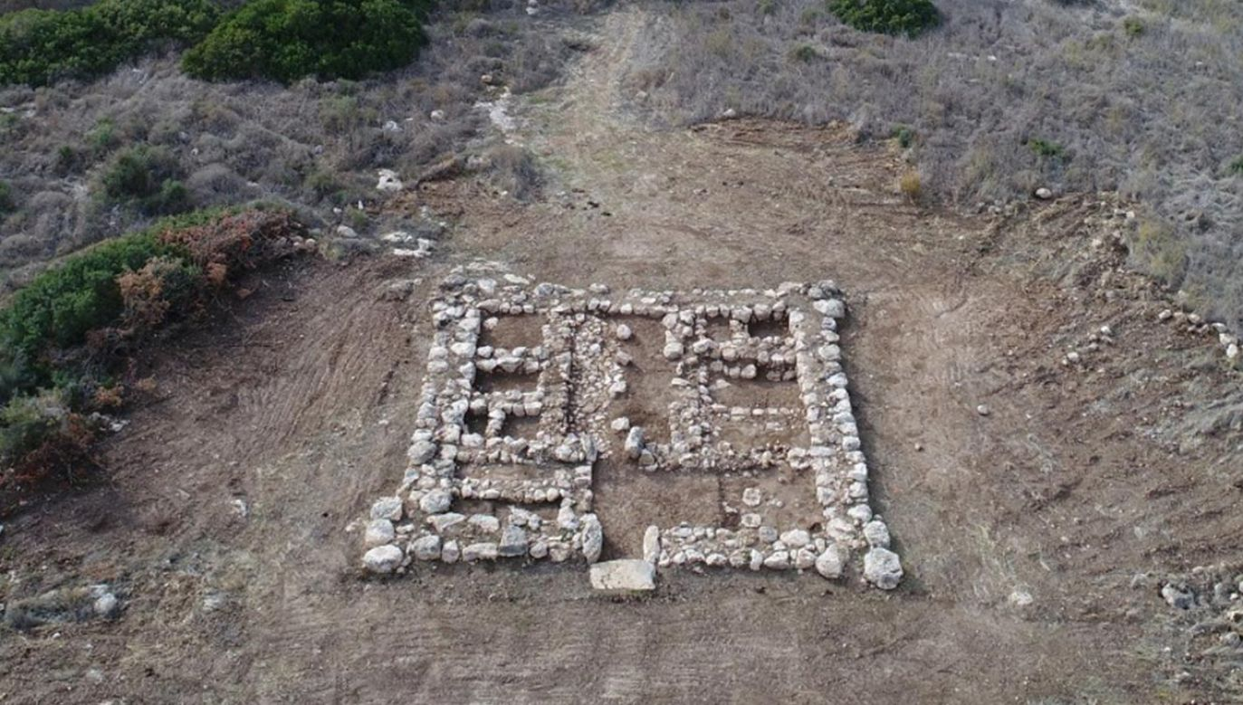 Starożytna forteca w Kirjat Gat (fot. Facebook//Israel Antiquities Authority)