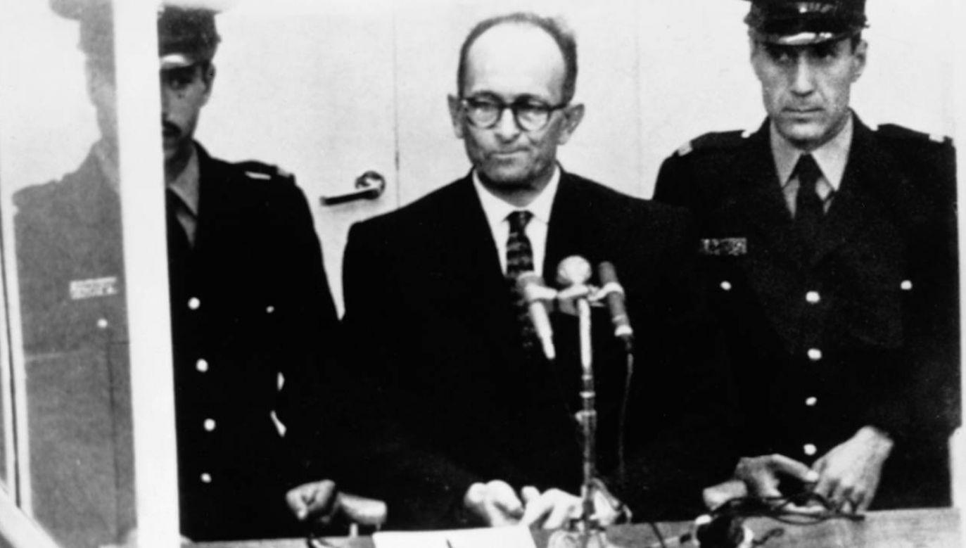 Adolf Eichmann wpadł kilkanaście lat po wojnie (fot. Hulton-Deutsch Collection/CORBIS/Corbis via Getty Images)