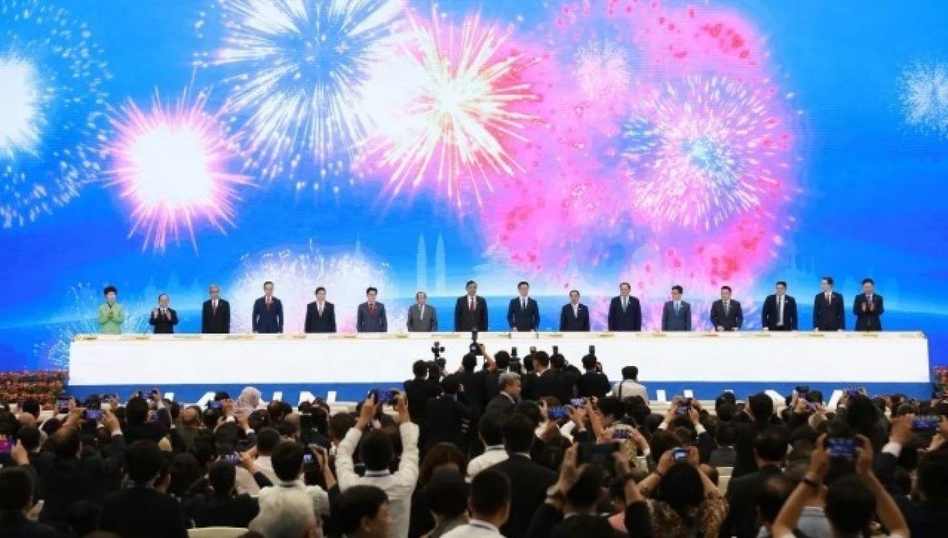 Targi CAEXPO w Nanning odbywają się po raz 16. (fot. Facebook/China-ASEAN Expo)