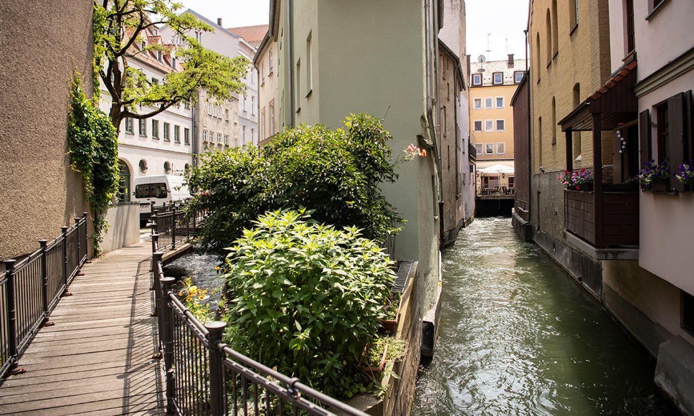 System zarządzania wodą w Augsburgu (fot. PAP/EPA/LUKAS BARTH-TUTTAS)