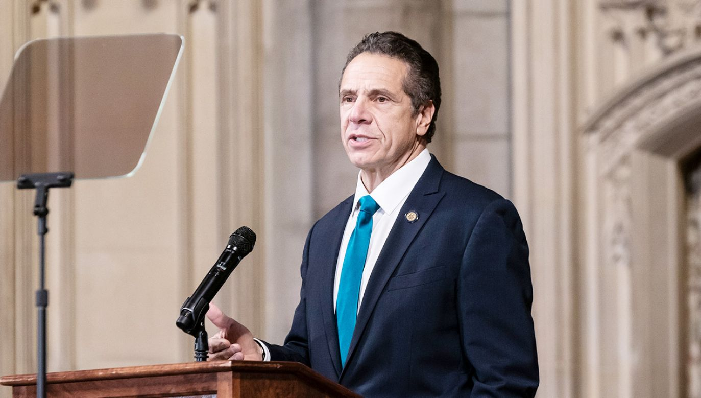 Andrew Cuomo (fot. Lev Radin/Pacific Press/LightRocket via Getty Images)