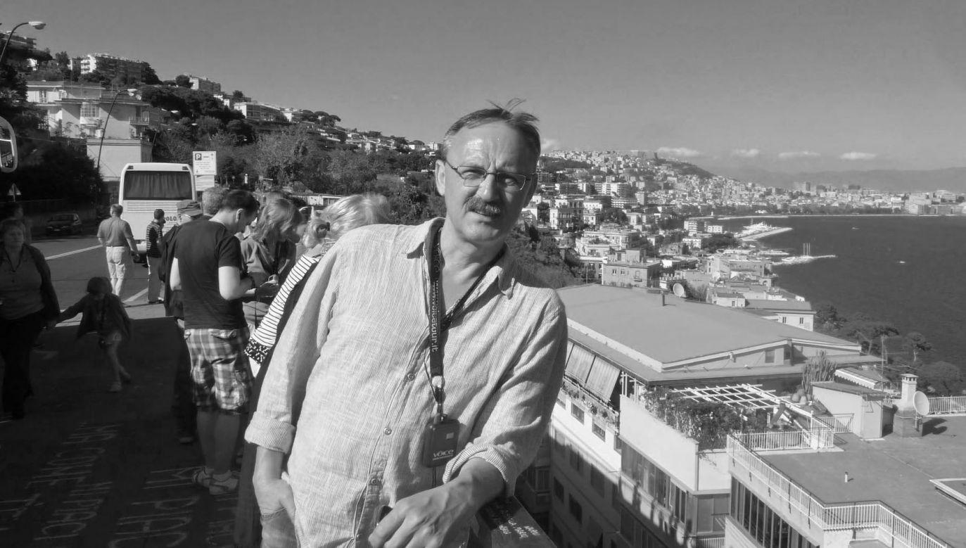 Tomasz Maszczyk miał 59 lat (fot. Facebook, archiwum prywatne)