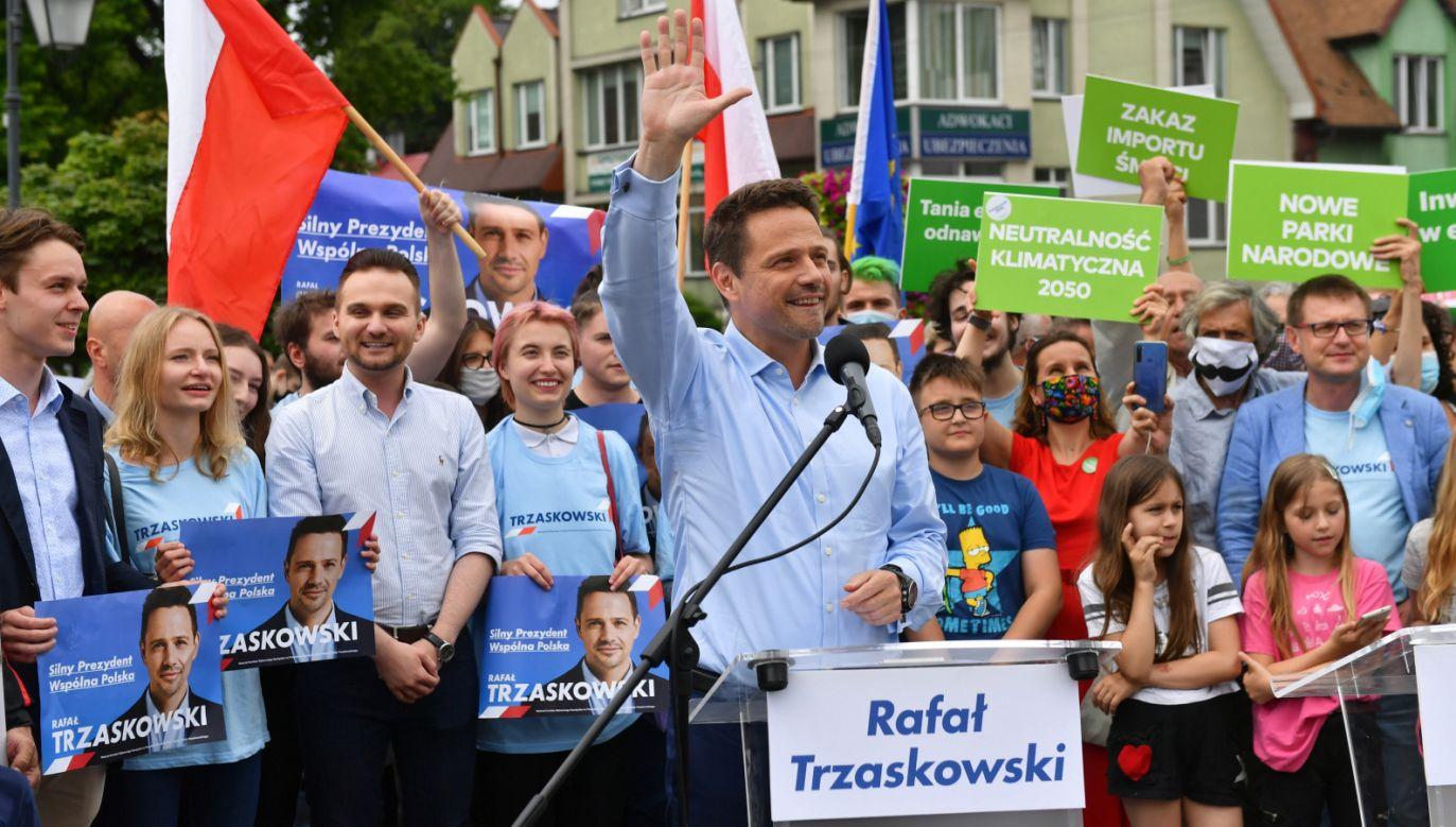 Rafał Trzaskowski (fot. PAP/Grzegorz Michałowski)
