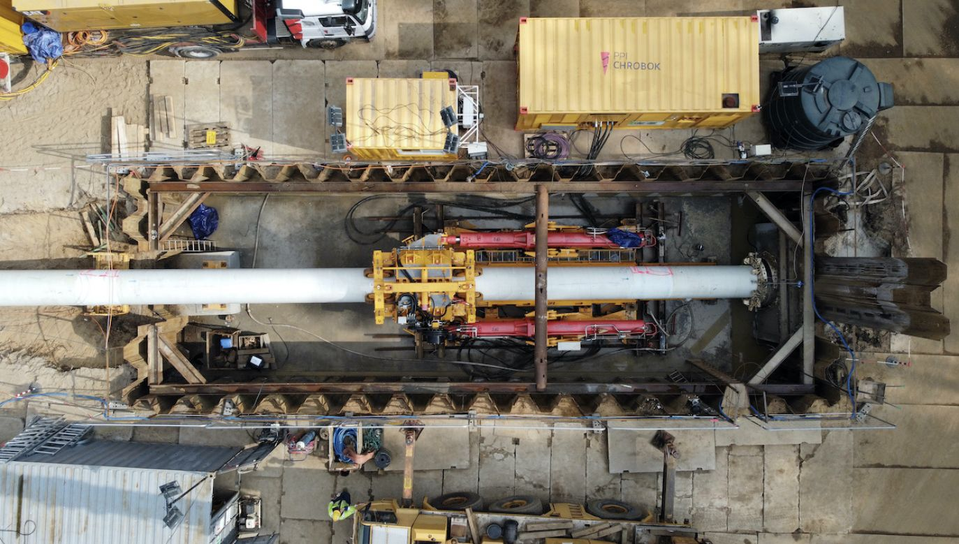 Budowa Baltic Pipe (fot. arch.PAP/Marcin Bielecki)