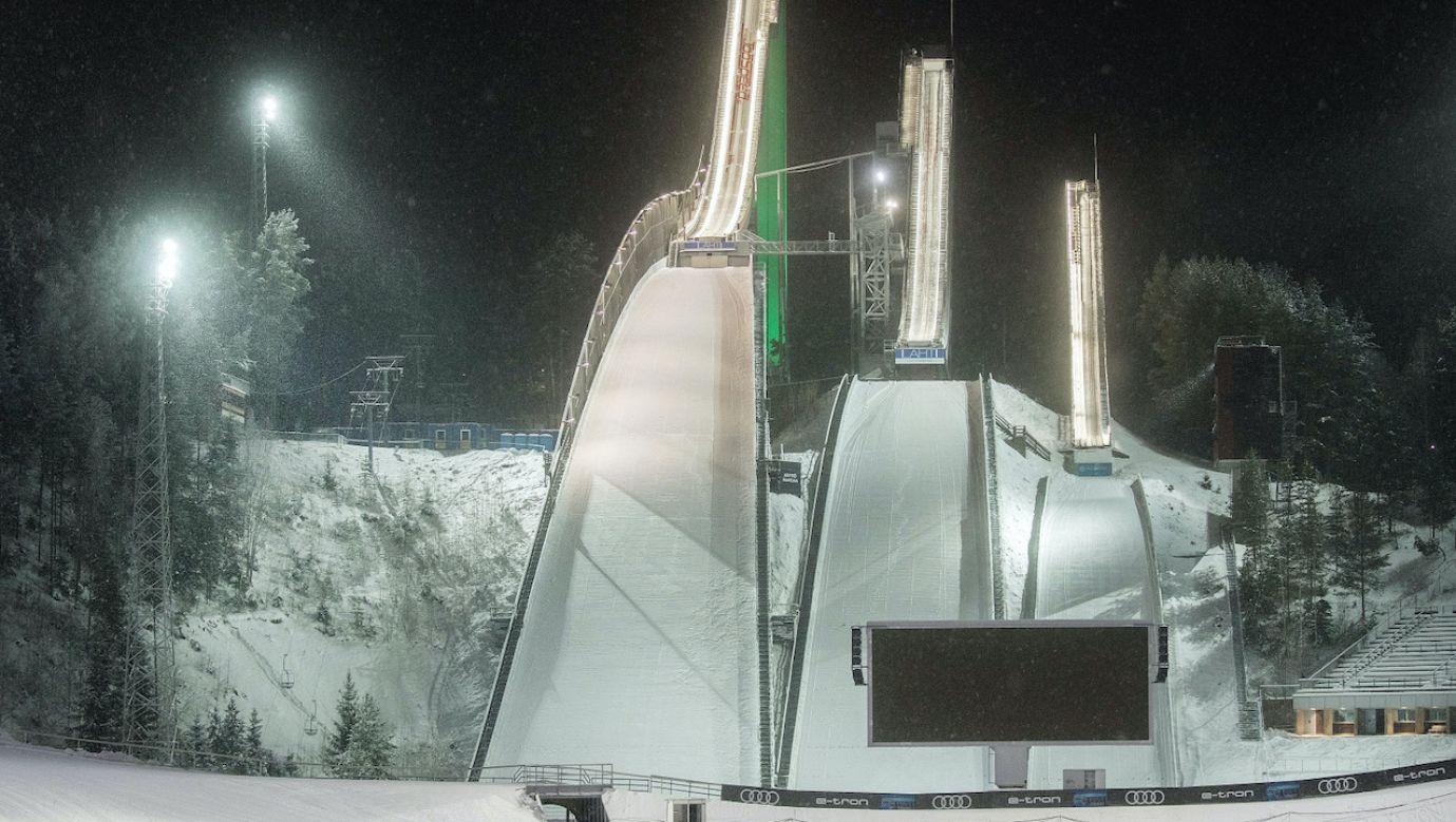 Skoczkowie narciarscy kontynuują rywalizację podczas Pucharu Świata w Lahti (fot. PAP/EPA/MAURI RATILAINEN)