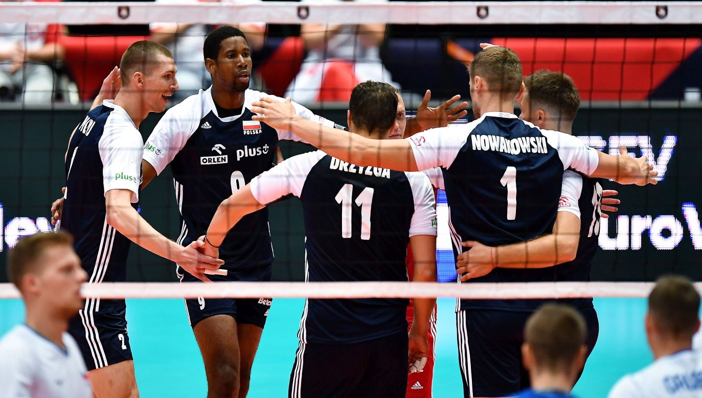Polacy wygrali trzeci mecz na mistrzostwach Europy (fot. PAP)