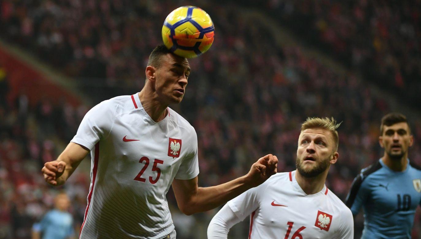 Jarosław Jach ma za sobą dwa mecze w reprezentacji Polski (fot: PAP)