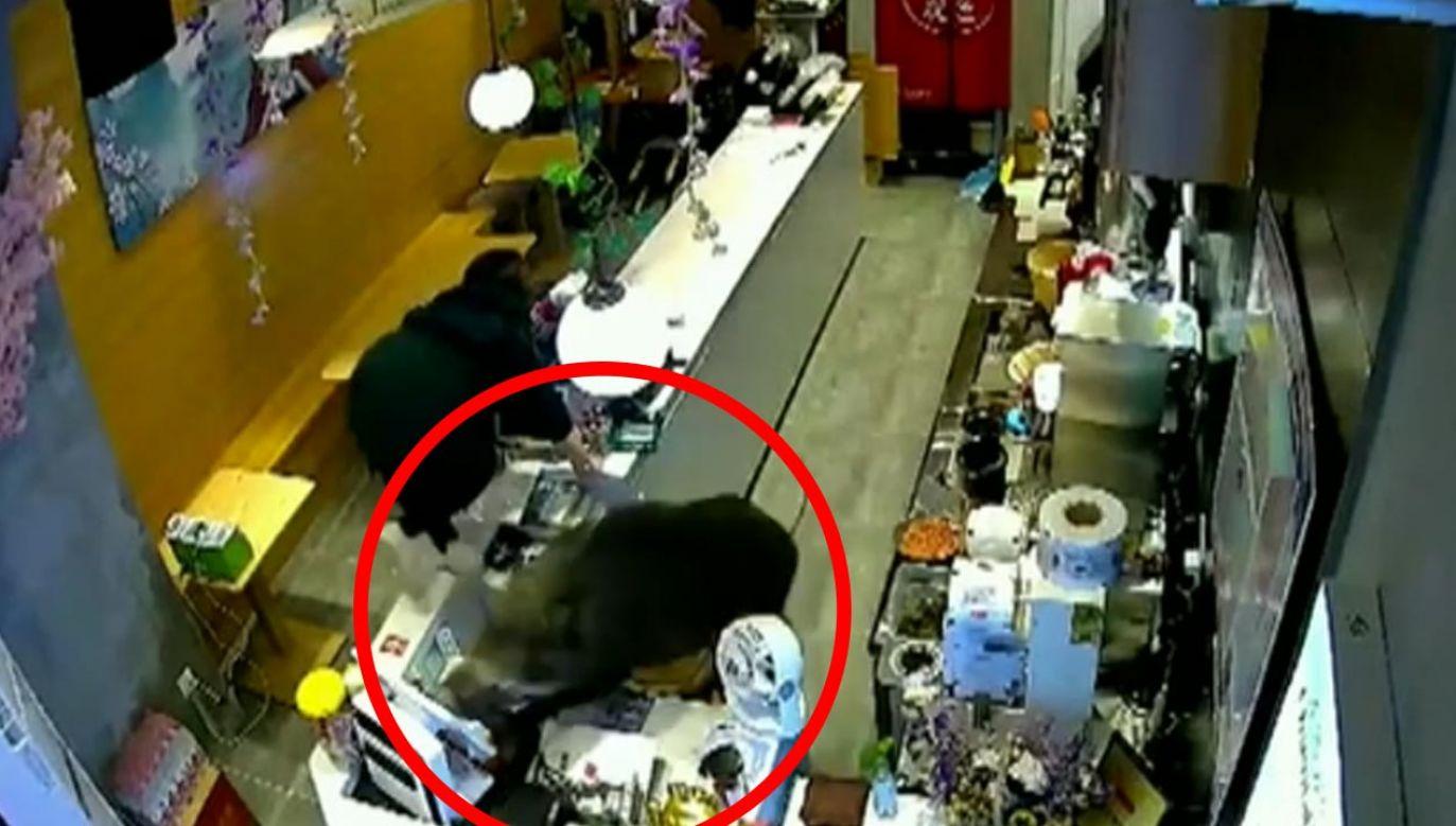 Do zdarzenia doszło w chińskim mieście Nankin (fot. Teleexpress)