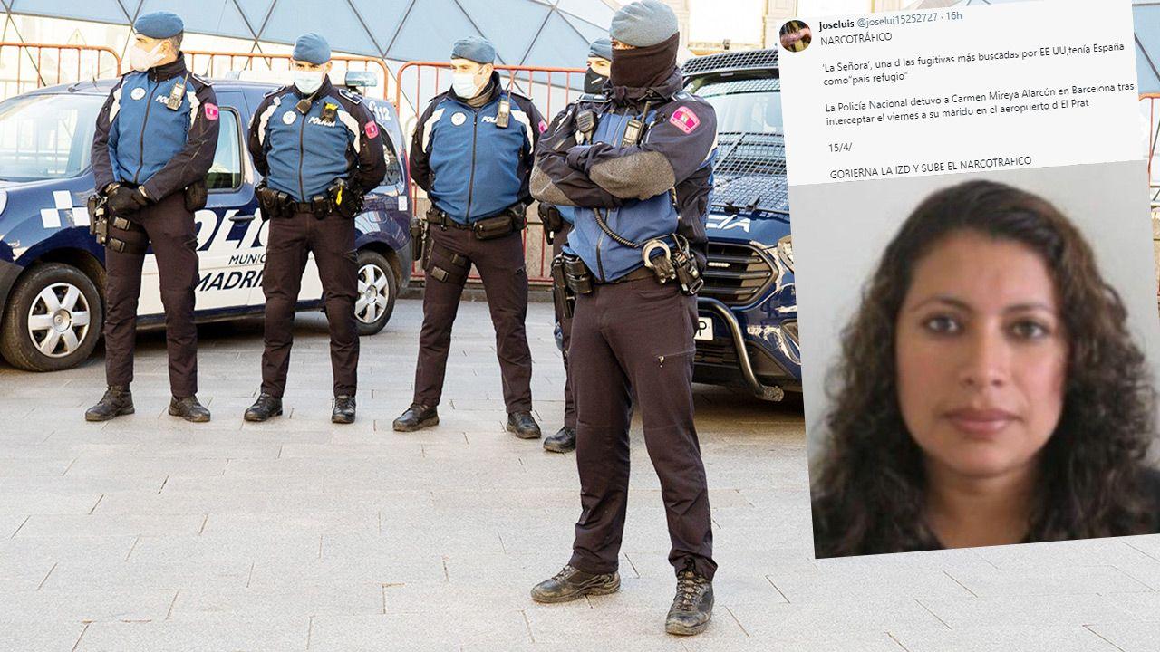 """""""La Senora"""" wpadła po kontroli dokumentów swojego męża (fot. Oscar Gonzalez/NurPhoto via Getty Images; TT)"""