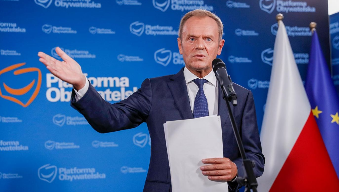 Donald Tusk (fot. Forum/Dudek Jerzy)