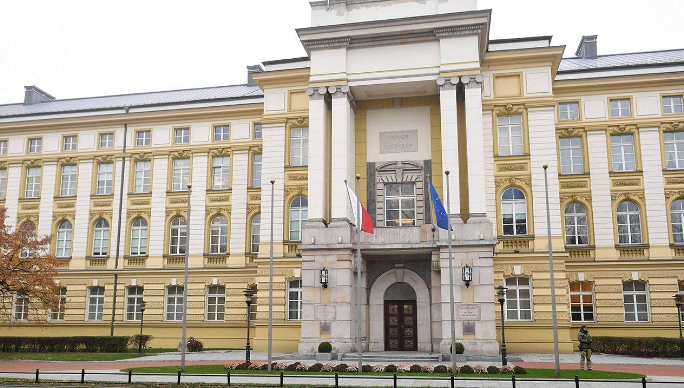 W Sejmie odbyło się pierwsze czytanie nowego rządowego projektu zmian w ustawie o działach administracji rządowej (fot. PAP/Radek Pietruszka)