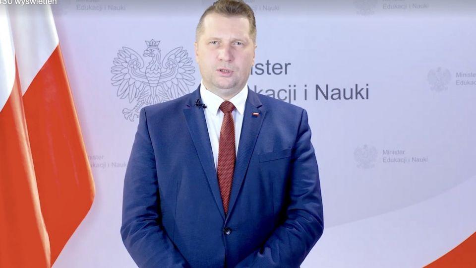 Przemysław Czarnek do rektorów: To rażący brak odpowiedzialności wieszwiecej - tvp.info