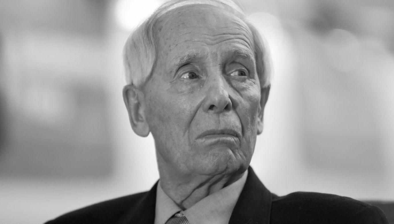 Alfred Miodowicz miał 92 lata (fot. arch.PAP/Leszek Szymański)
