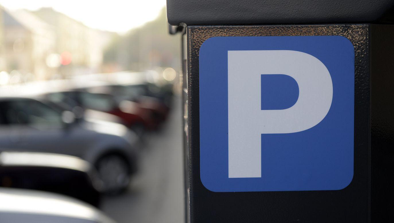 Liczba płatnych miejsc parkingowych ma wzrosnąć o około 30 proc. (fot. arch.PAP/Darek Delmanowicz)