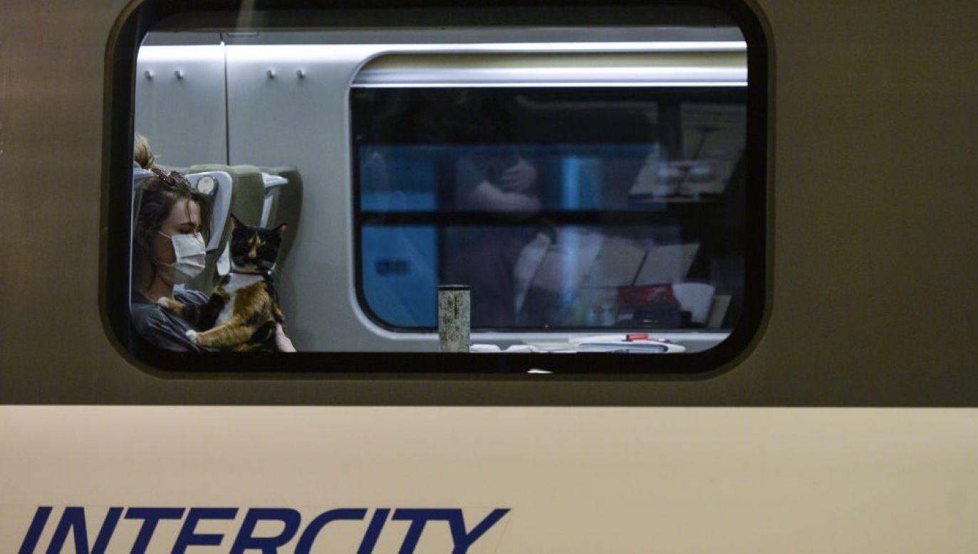 Często wybierane przez podróżnych są pociągi do nadmorskich miejscowości (fot. Artur Widak/NurPhoto via Getty Images)