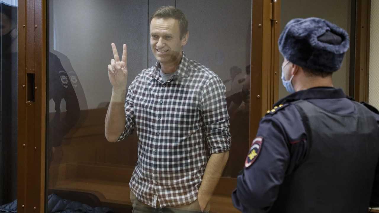 Aleksiej Nawalny trafi do kolonii karnej (fot. PAP/EPA/YURI KOCHETKOV)