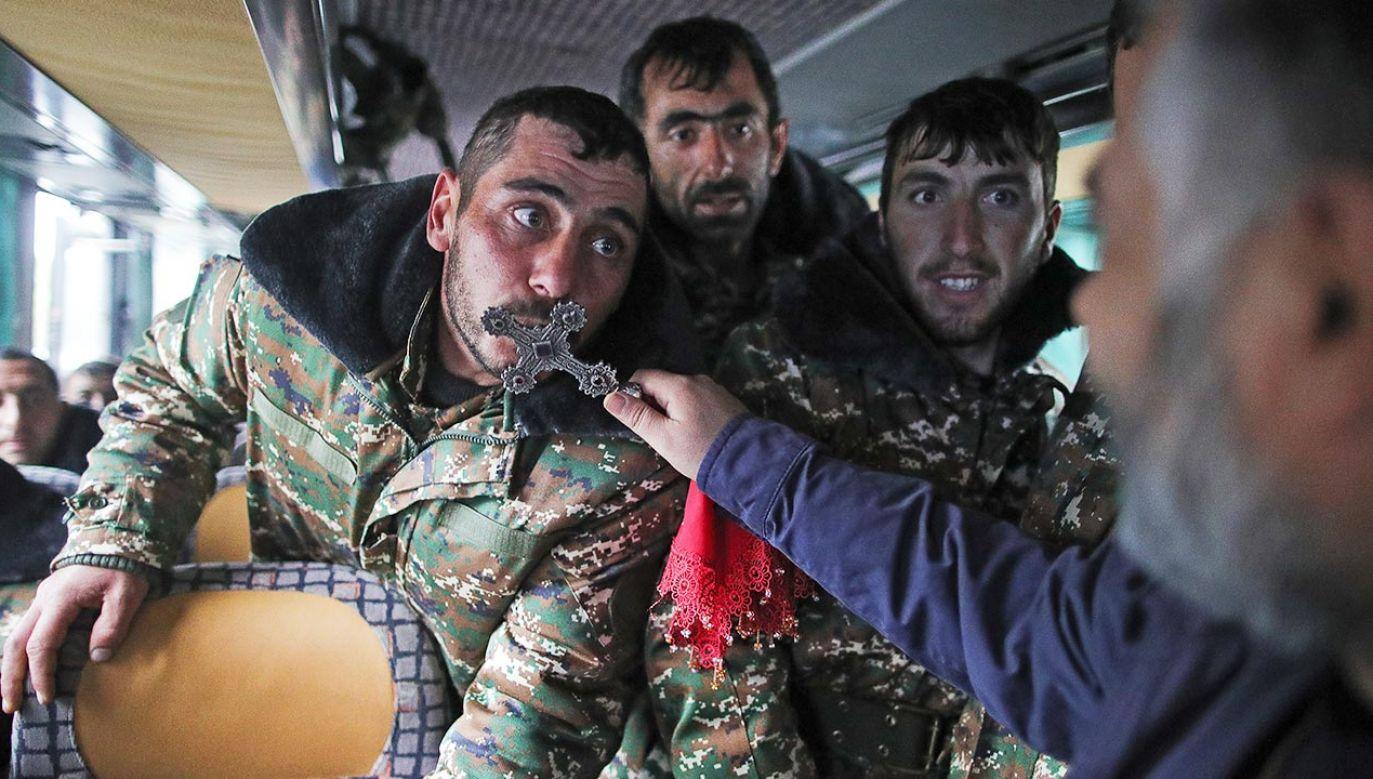 Konflikt o Górski Karabach 27 września wkroczył w nowy etap, ale się tego dnia nie rozpoczął (fot. Sergei Bobylev\TASS via Getty Images)